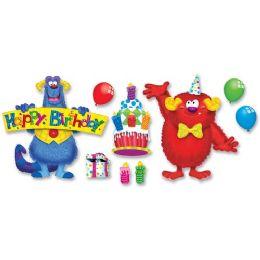 48 Bulk Trend Furry Friends Birthday Fun Bulletin Board Set