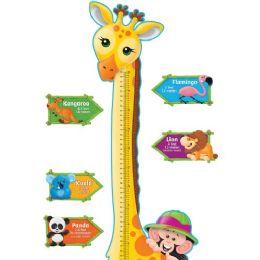 Bulk Trend Giraffe Growth Chart Bulletin Board Set
