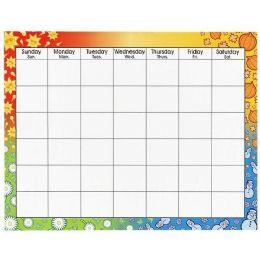 156 Bulk Trend Large WipE-Off Blank Calendar Chart