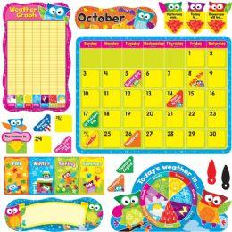 48 Bulk Trend OwL-Stars Calendar Bulletin Board Set