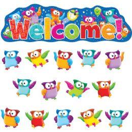 Bulk Trend OwL-Stars! Welcom Bulletin Board Set