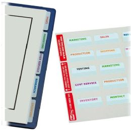 24 Bulk RedI-Tag Printable Laser Tab Value Pack
