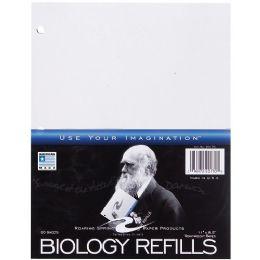 24 Bulk Roaring Spring Biology Filler Paper