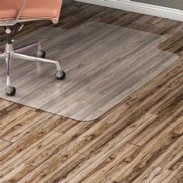 Bulk Lorell Nonstudded Design Hardwood Surface Chairmat