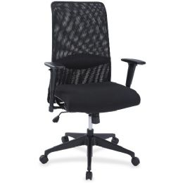 Bulk Lorell SynchrO-Tilt Mesh Back Suspension Chair