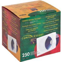Bulk Compucessory Cd/dvd Window Envelopes