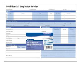Bulk Confidential Employee Folder