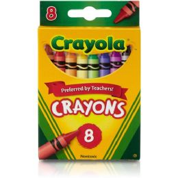 528 Bulk Crayola Regular Size Crayon Sets 8 Pack