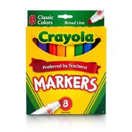 144 Bulk Crayola Classic Colors Markers