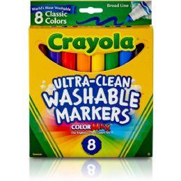 120 Bulk Crayola Classic Washable Marker Set
