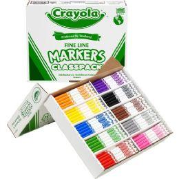 Bulk Crayola Classpack Fine Line Markers