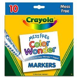 72 Bulk Crayola Color Wonder Marker