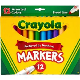 Bulk Crayola Conical Tip Classic Markers
