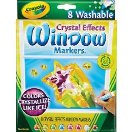 120 Bulk Crayola Crystal Effect Window Marker