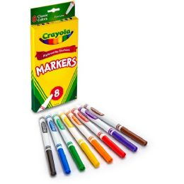 144 Bulk Crayola Fine Tip Classic Markers