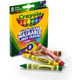 192 Bulk Crayola Kid's First Washable Crayon