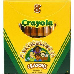 408 Bulk Crayola Large Multicultural Crayon