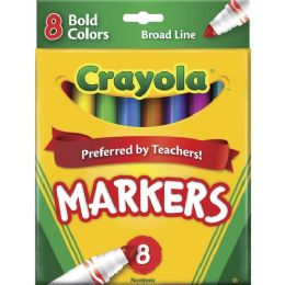 144 Bulk Crayola Regular Bold Markers