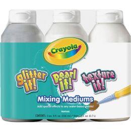 48 Bulk Crayola Mixing Mediums Paint Effects