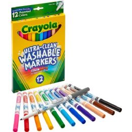 72 Bulk Crayola Thinline Washable Marker
