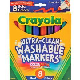 120 Bulk Crayola Washable Bold Markers