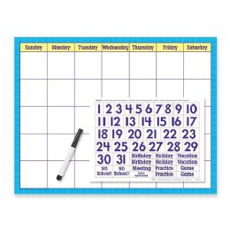 102 Bulk Trend WipE-Off Calendar Kit Cling Numeral