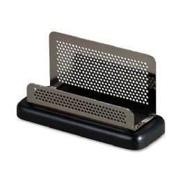 104 Bulk Rolodex Distinctions Pewter Business Card Holder