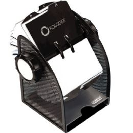 Bulk Rolodex Rotary Mesh Business Card File