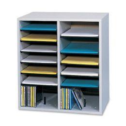Bulk Safco 16 Compartments Adjustable Shelves Literature Organizer