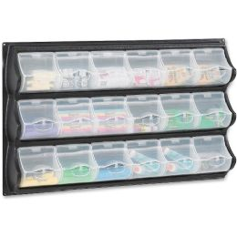 9 Bulk Safco 18-Pocket Panel Bins