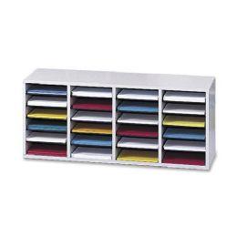 Bulk Safco 24 Compartment Adjustable Shelves Literature Organizer