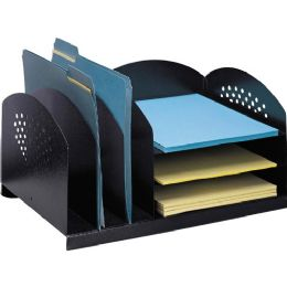 Bulk Safco 3 & 3 Combination Rack Desktop Organizer