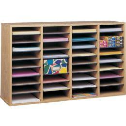 Bulk Safco 36 Compartment Adjustable Shelves Literature Organizer