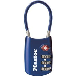 Bulk Master Lock 4688d Luggage Cable Lock