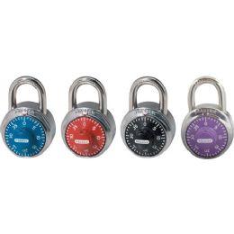 Bulk Master Lock Colored Dial Combination Padlock