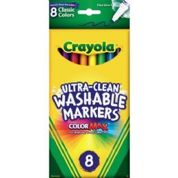 120 Bulk Crayola Washable Thinline Marker