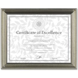 Bulk Dax AntiquE-Colored Certificate Frame