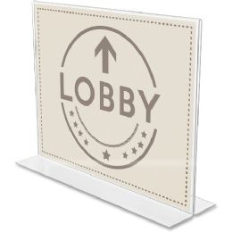 Bulk DeflecT-O AntI-Glare DoublE-Sided Sign Holder