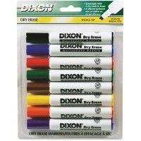 Bulk Dixon Wedge Tip Dry Erase Markers