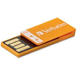 84 Bulk Verbatim 4gb CliP-It 97551 Flash Drive