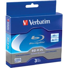 Bulk Verbatim BlU-Ray Dual Layer BD-R Dl 6x Disc