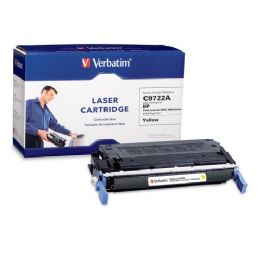 8 Bulk Verbatim Hp C9722a Compatible Yellow Toner (4600, 4650)