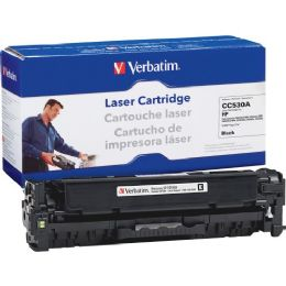 Bulk Verbatim Hp Cc530a Compatible Black Toner Cartridge