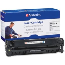 8 Bulk Verbatim Hp Cc531a Compatible Cyan Toner Cartridge