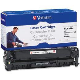 8 Bulk Verbatim Hp Cc533a Compatible Magenta Toner Cartridge