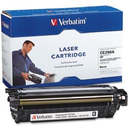 8 Bulk Verbatim Hp Ce250a Compatible Black Toner Cartridge