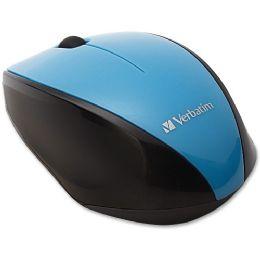 Bulk Verbatim Wireless MultI-Trac Blue Led Optical Mouse - Blue