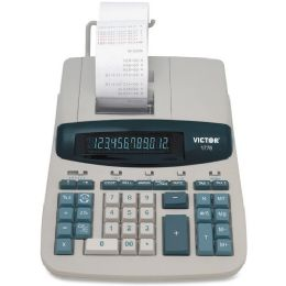 4 Bulk Victor 1776 TaA-Compliant Ribbon Print Calculator
