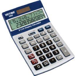 Bulk Victor 9800 Easy Check TwO-Line Calculator