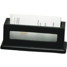 Bulk Victor Midnight Black Business Card Holder